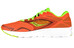 saucony Kinvara 7 Running Shoes Men Orange/Citron/Black
